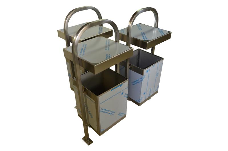 Inox kante za smeće